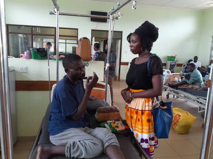 Nkhata Bay Youth Network Cheers Patients