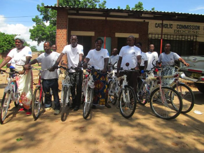 Chikwawa Advocacy Group Gets 23 Bicycles
