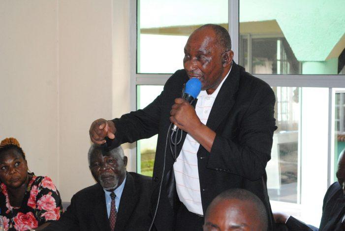 TA Kalonga Denounces Violence