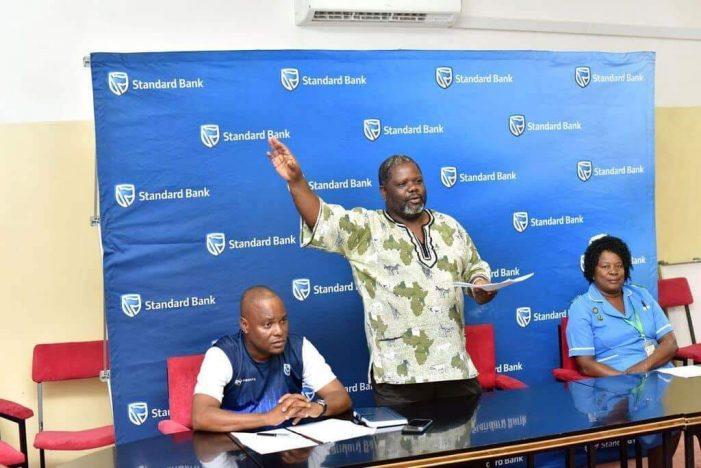Standard Bank Donates Medical Kits To KCH Cancer Unit