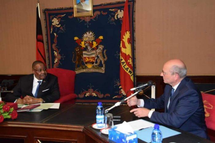 President Mutharika Meets SDA Church Global Leader Elder Ted Wilson