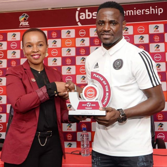 Gaba Wins Player Of the Month Award
