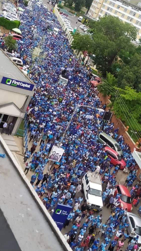 Mighty DPP March for 'Restoration of Democratic Justice'