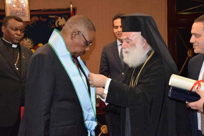 Malawi President Mutharika Hold Talks With Greek Orthodox Church Leader