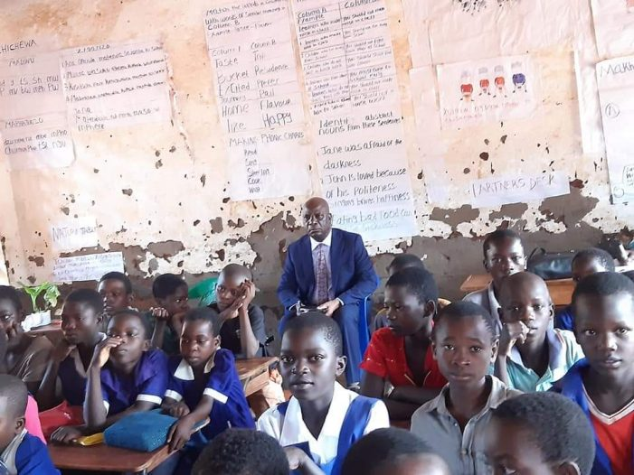 Education Minister Susuwele Attends Standard 4 Lessons