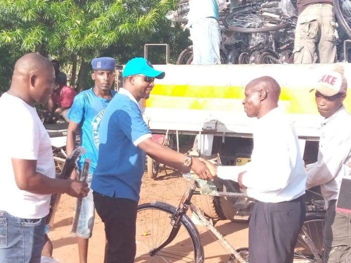 DPP MP Chipungu Donates Bicycles to Thyolo Chiefs