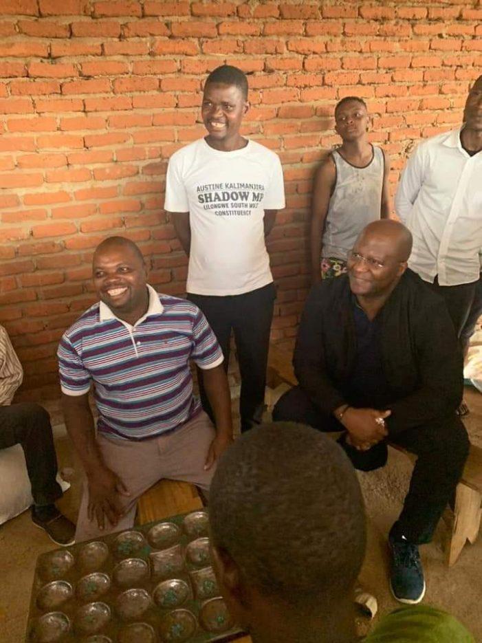 Muluzi Meets Lilongwe Vendors