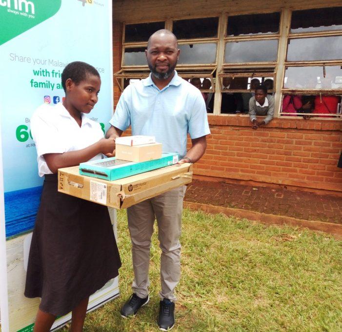 TNM Donates ICT Equipment to Chayamba Secondary School in Kasungu