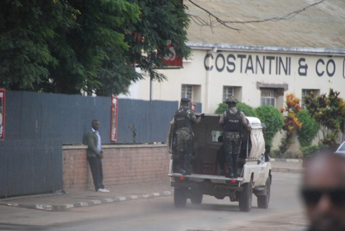 Lilongwe Area 9 Compound On Lockdown
