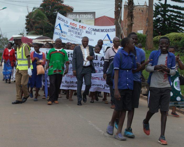 Mzuzu Commemorates World Aids Day