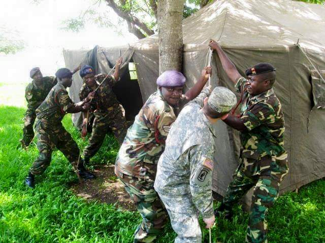 COVID-19: MDF Optimistic On Safety Of Soldiers in DRC