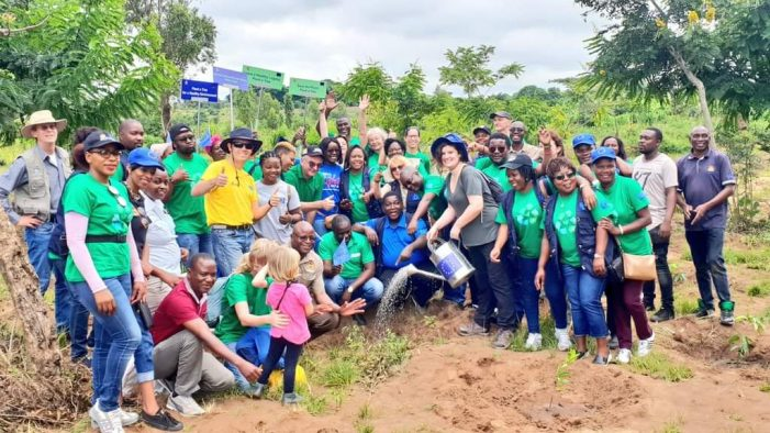 Europe Plants 3000 Trees in Dowa