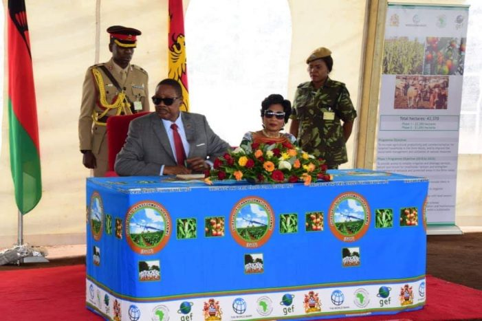Mutharika Reiterates Commitment to Transform Agriculture Sector