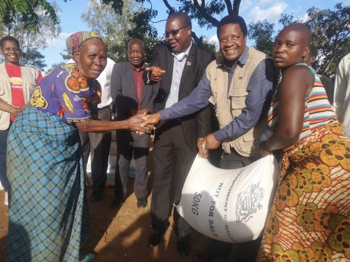 DoDMA Donates Relief Items to Disaster  Stricken Families
