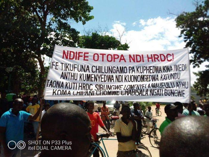 Mangochi Residents Commends Police For HRDC Arrests