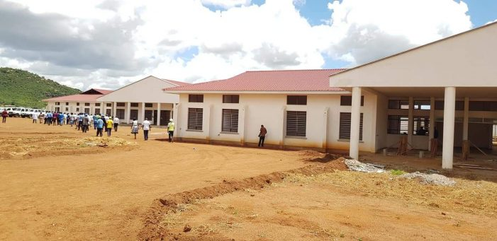 Minister Impressed With Phalombe District Hospital Construction Works