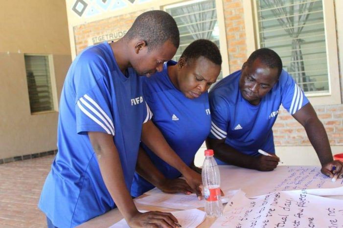 Grassroots Football Regional Coordinators Urged To Raise The Bar
