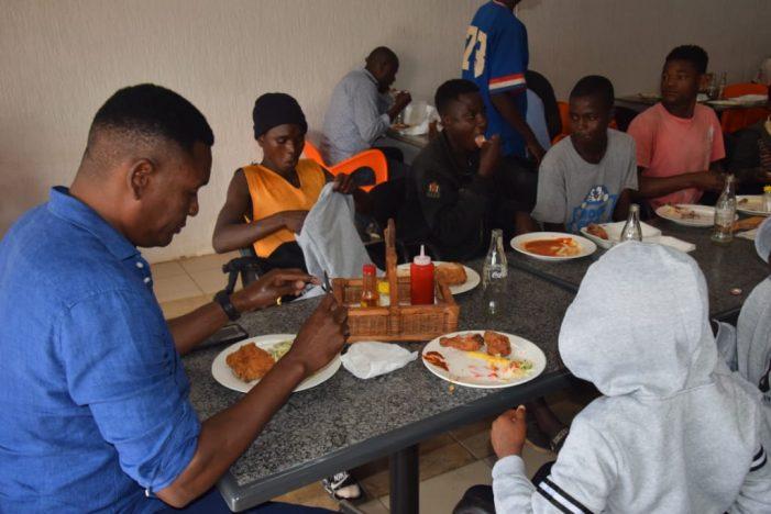 Chisale Feeds, Dresses 45 Zomba Street Children…Sensitizes Them On Corona Virus