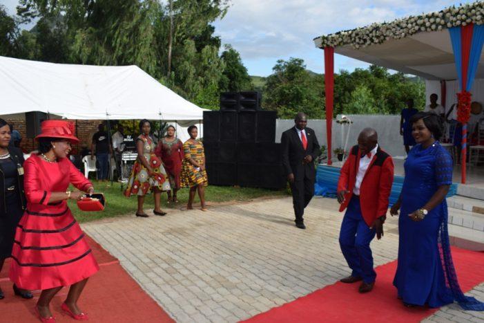 First Lady Madame Mutharika Graces Senior Chief Mlumbe's Royal Wedding