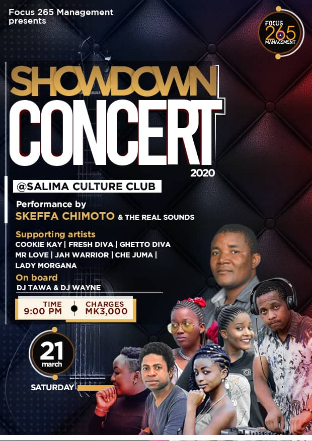 Focus 265 Management Set For Showdown Concert