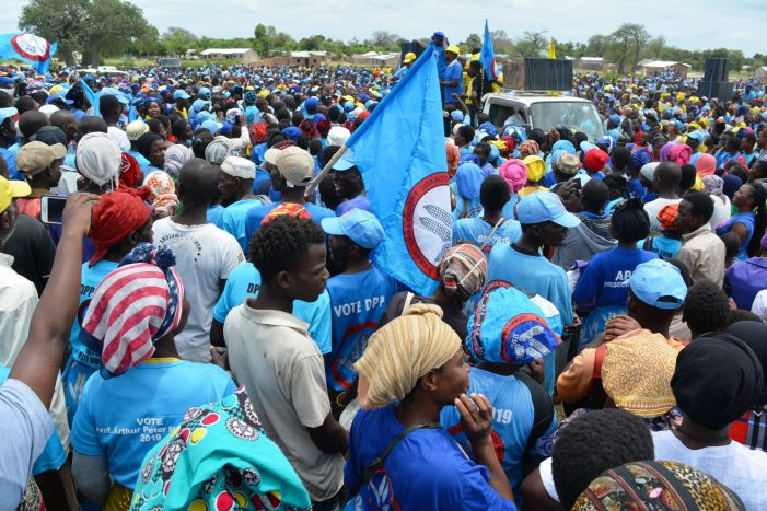 DPP Hails Mangochi People For Peaceful Demos