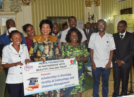 Beautify Malawi Trust Grants Scholarships To 15 Medical Personnel's