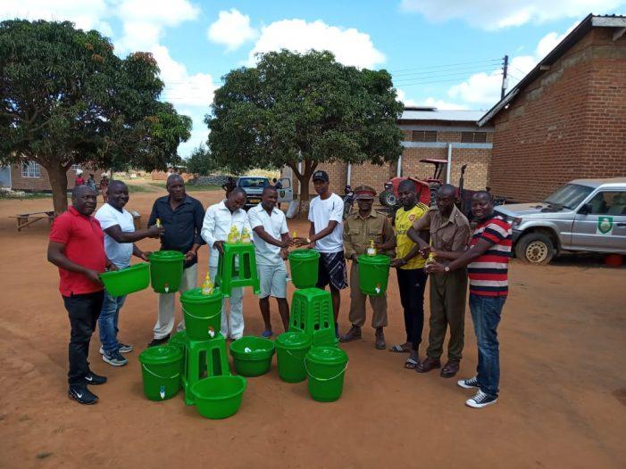 Well-Wishers Donates Corona Kits To Kasungu Prison