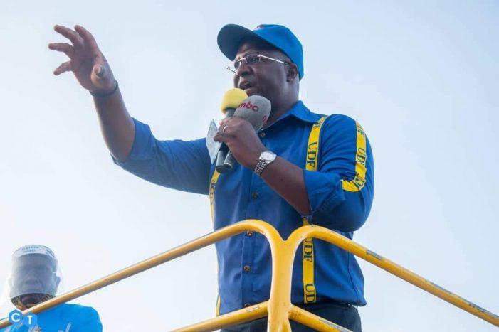Vote For DPP-UDF Alliance For Continued Development-Muluzi