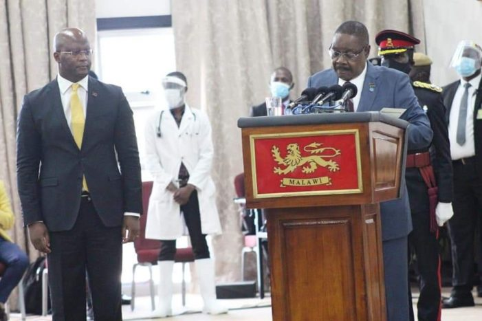 Malawi President Mutharika Pledges More Development