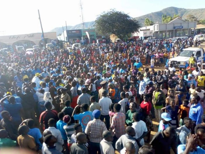 DPP Storms Rumphi, Urges People to Vote For Mutharika