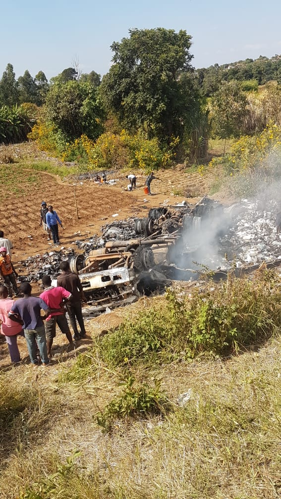 Driver Burns to Ashes in Ntcheu