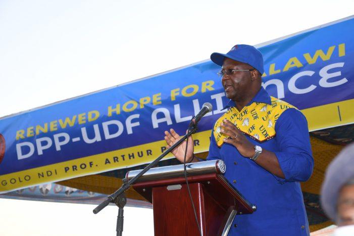 DPP-UDF Alliance Assures  Mzimba Of Continued Development