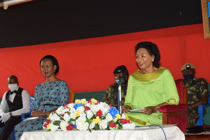 Madame Mutharika Takes Covid-19 Drive In Chiradzulu