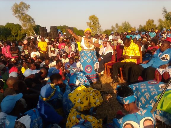 DPP's Wa Jeffrey Urges People to Vote For Mutharika