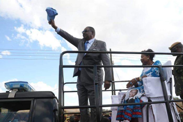 Senior Chief Kaomba Of Kasungu Urges Malawians To Vote For DPP-UDF Alliance