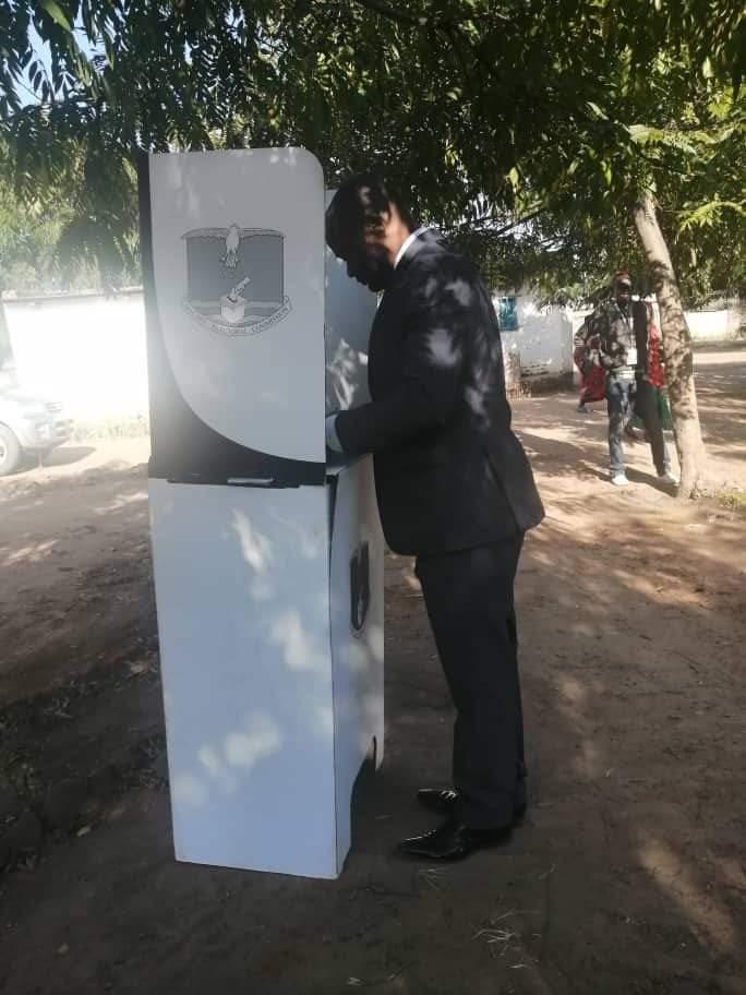 Mbakuwaku Candidate Kuwani Votes, Optimistic Of Victory