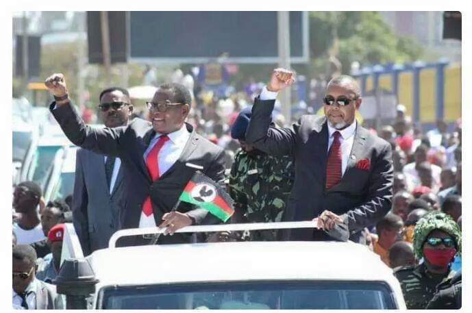 Mbakuwaku President Kuwani Congratulates Chakwera for 'Pending' Victory