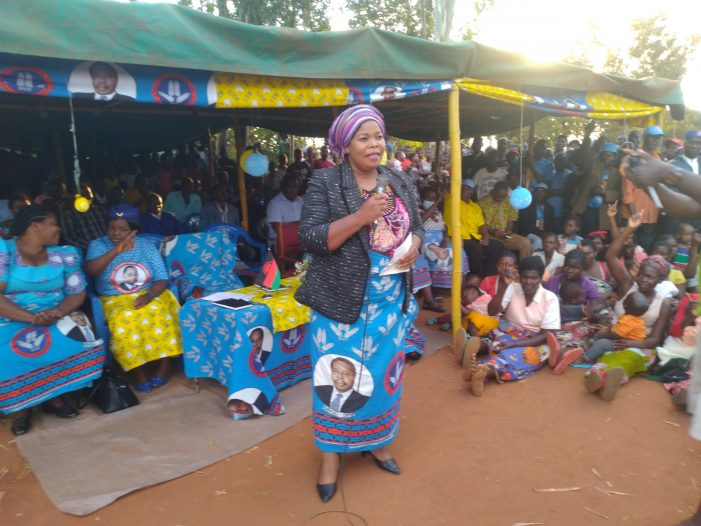 Gender Minister Navicha Urges Women to Vote For Mutharika