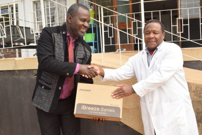Businessman Donates Life Saving Equipment to Hospitals to Fight Covid-19