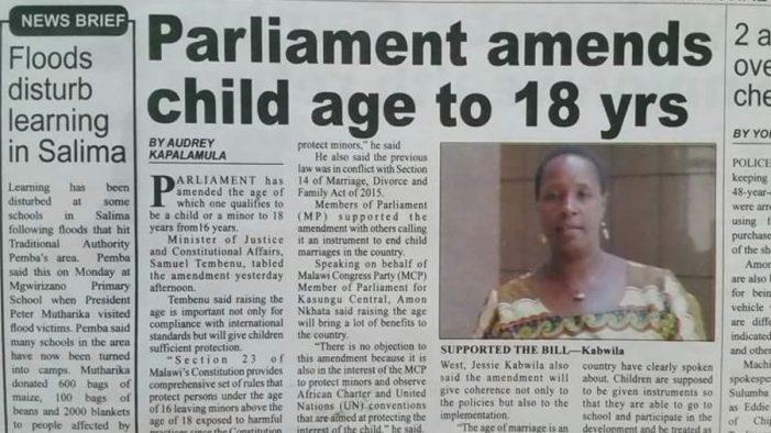 Over 300 Primary School Girls Get Married in Karonga