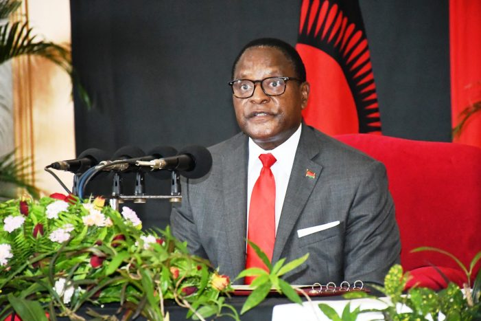 Chakwera Pressured to Act As Malawi Turns  Into Lawless State