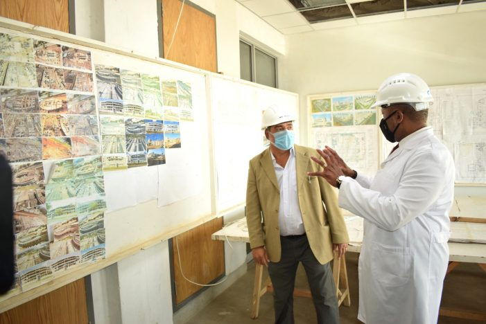 Chilima Impressed With Progress On MBS Offices Project