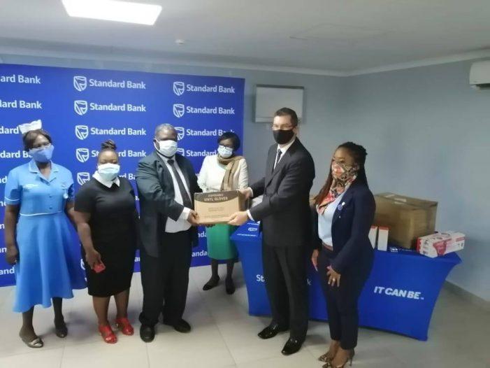 Standard Bank Equips Major Hospitals with K90 Million Covid-19 Response Equipment