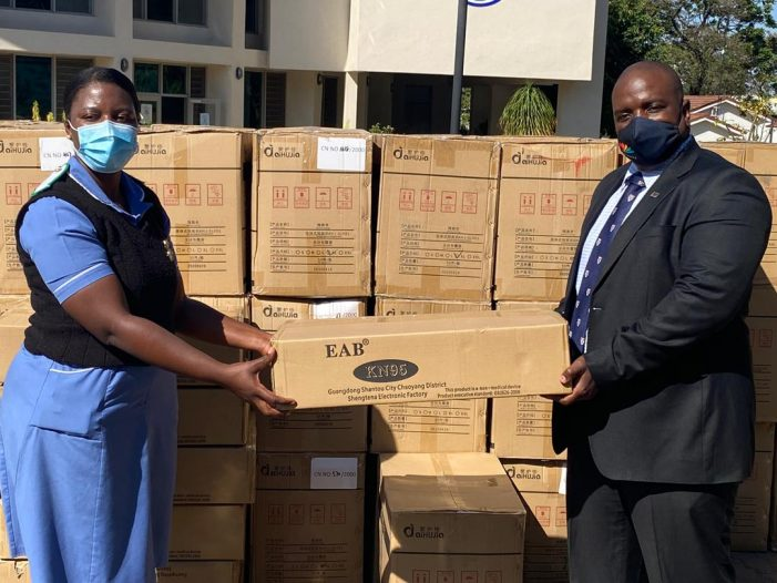 Multichoice Malawi Donates PPE to Queen's Hospital
