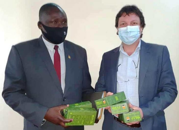 UNICEF Donates Smart Phones, Chargers to Malawi
