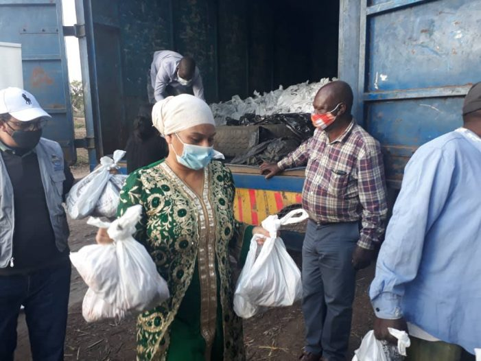 Abida Mia Distributes Meat to Thousands of People in Shire Valley
