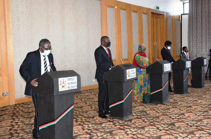 Malawi Imposes 'Partial' Lockdown…Limits Public gatherings, Masks Mandatory
