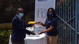EthCo Donates Hand Sanitizers to KK Schools