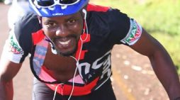Cyclist Stewart Kambewa Launches Charity Project