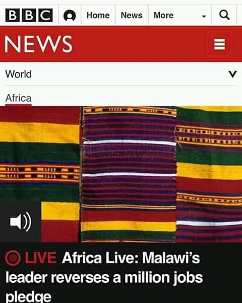 STATE HOUSE MALAWI ATTACKS BBC: They Should Not Be Conduits of Fake News
